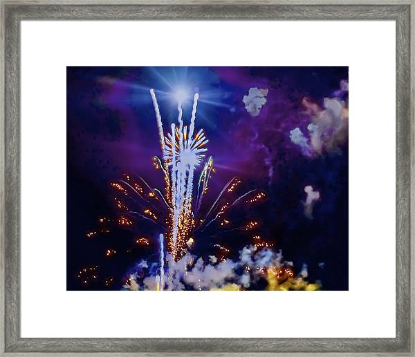 The Boom Framed Print by Larry Bodinson