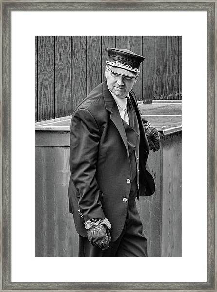 The Brakeman Framed Print