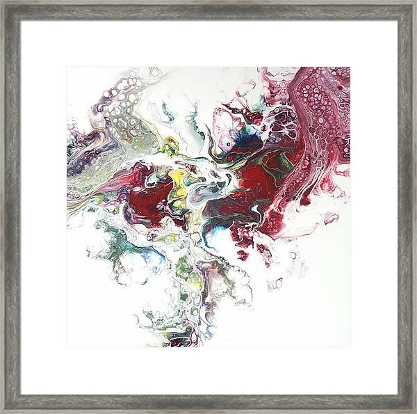 The Breath Of The Crimson Dragon Framed Print