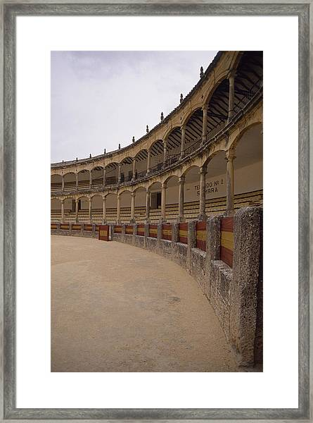 The Bullring Framed Print