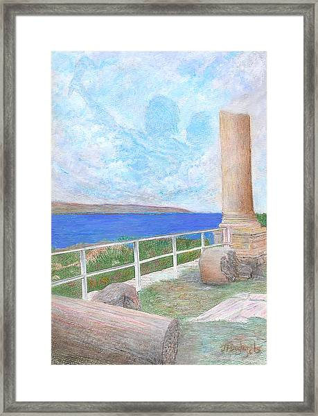 The Byblos Apparition Framed Print