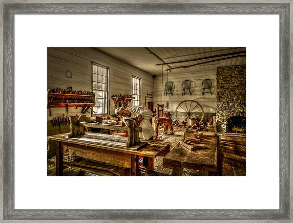 The Cabinetmaker Framed Print