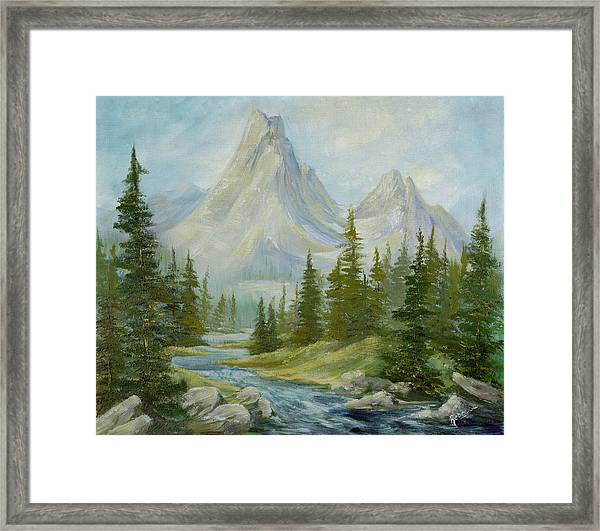 The Canines Framed Print