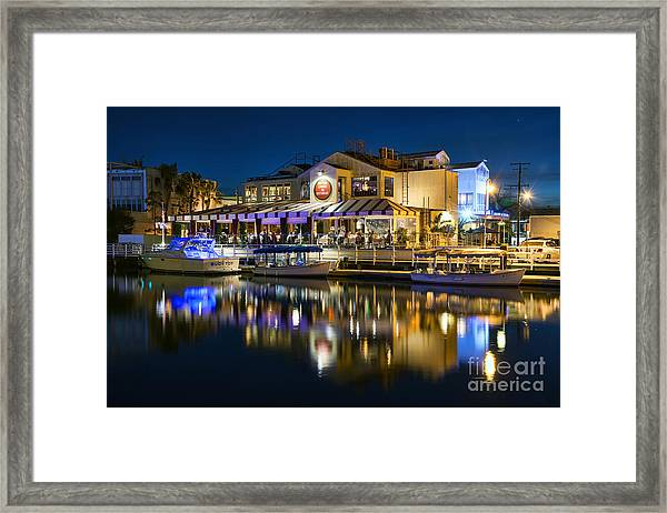 The Cannery Restaurant Framed Print