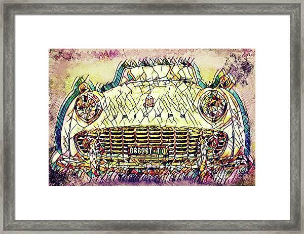 The Car Framed Print