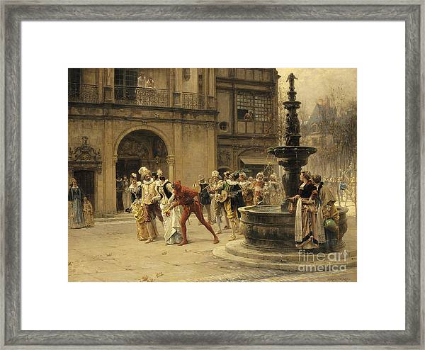 The Carnival Procession Framed Print