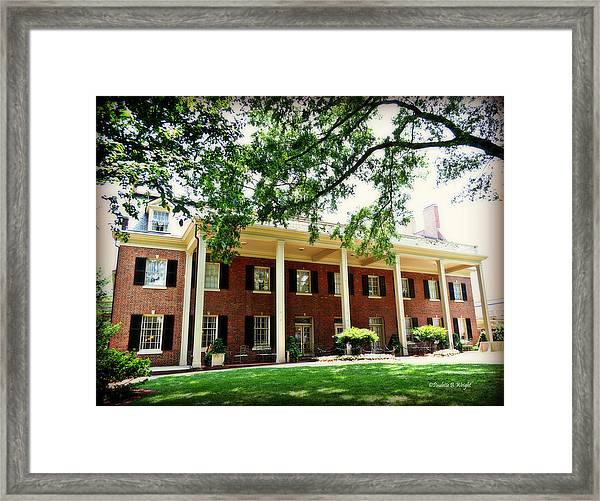 The Carolina Inn - Chapel Hill Framed Print