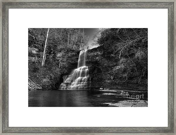 The Cascades Framed Print