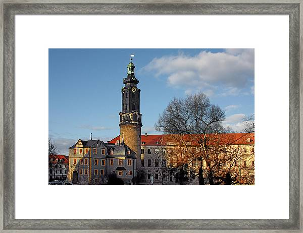 The Castle - Weimar - Thuringia - Germany Framed Print