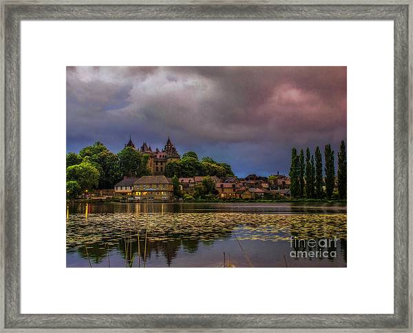 The Castle Of F.r. Chateaubriand Framed Print