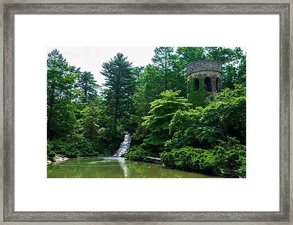 The Castle Tower At Longwood Gardens Framed Print