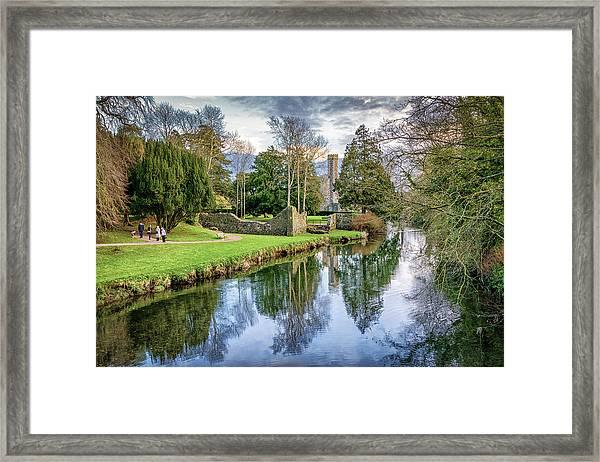 The Castle Walk Framed Print