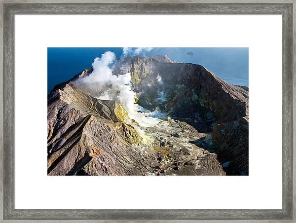 The Cauldron Framed Print