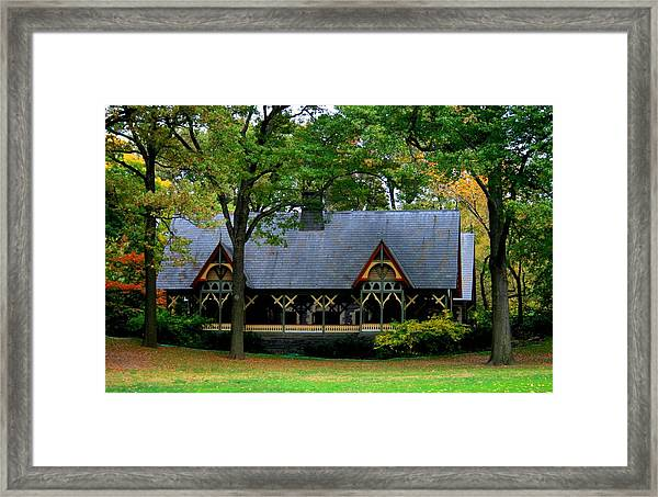 The Central Park Dairy Framed Print