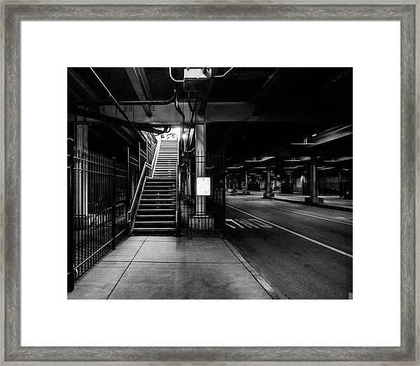 The Chi Lite Framed Print