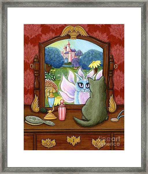 The Chimera Vanity - Fantasy World Framed Print