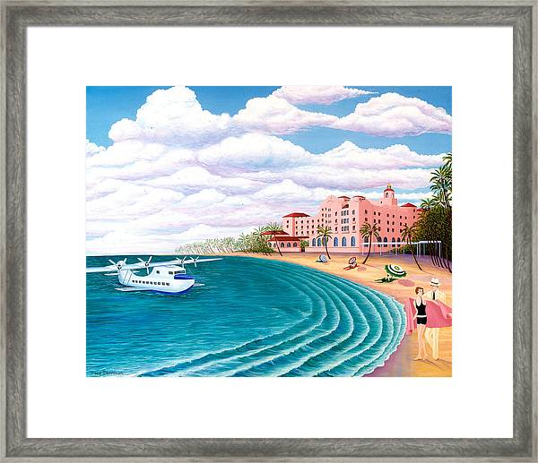 The China Clipper Framed Print