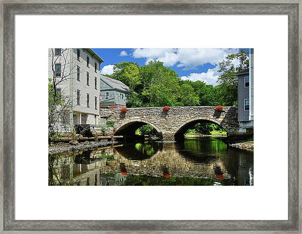 The Choate Bridge Framed Print