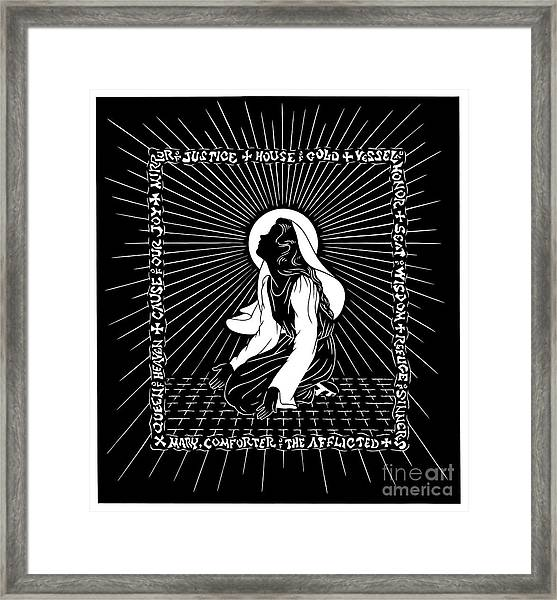 The Chosen One - Dptco Framed Print