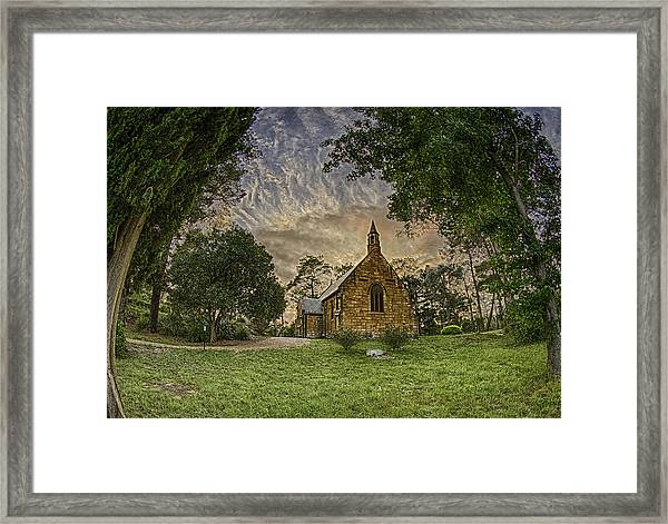 Framed Print featuring the photograph The Church by Chris Cousins