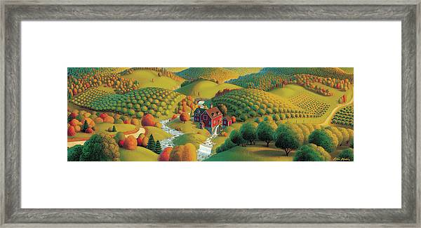 The Cider Mill Framed Print