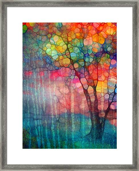 The Circus Tree Framed Print