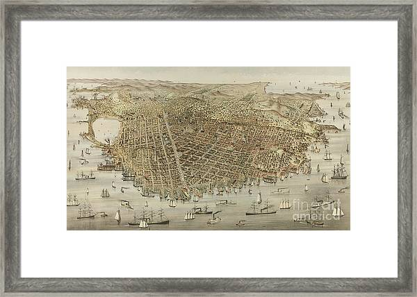 The City Of San Francisco Framed Print