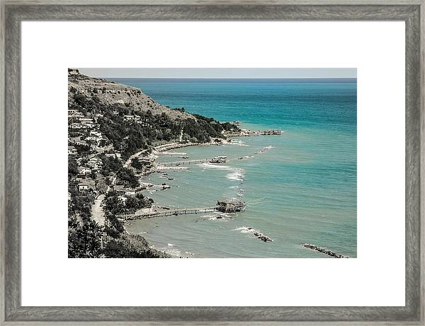 The City Of Waves Framed Print
