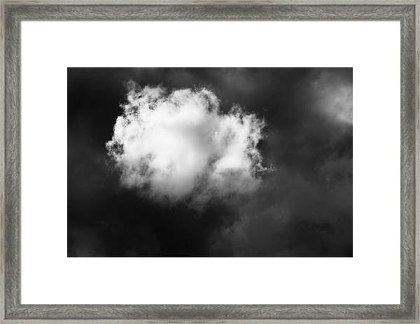 The Cloud Framed Print