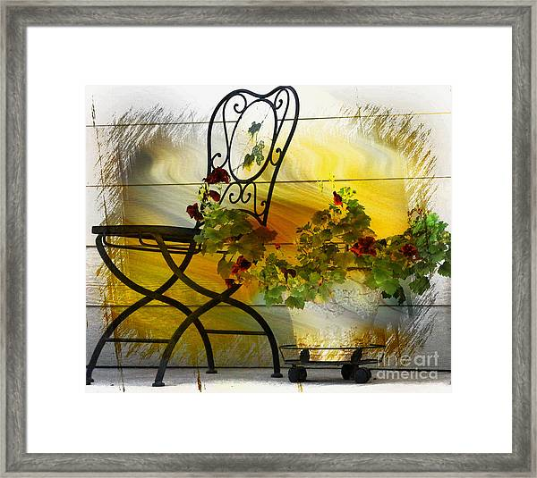 The Colors Of Fall Framed Print