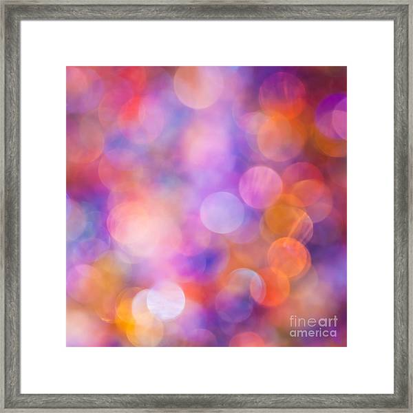 The Colour Of Happiness Framed Print