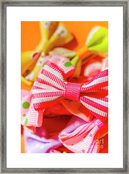 The Colourful Accessory Store Framed Print
