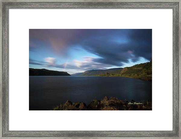 The Columbia River Gorge Signed Framed Print