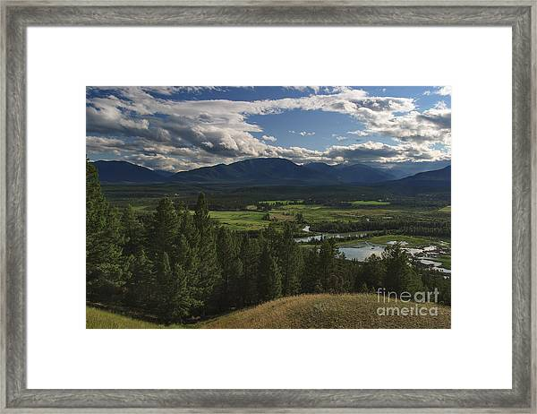 The Columbia Valley Framed Print