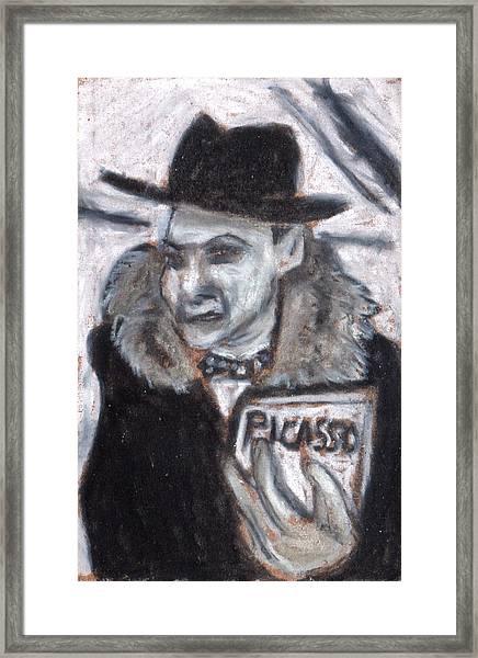 The Contact Noir Series Framed Print
