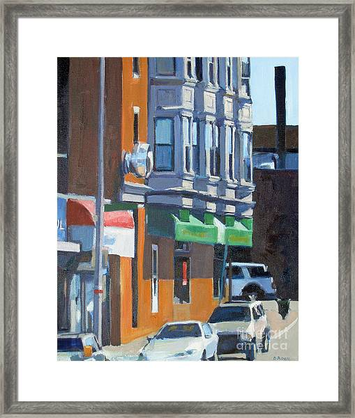 The Corner Framed Print
