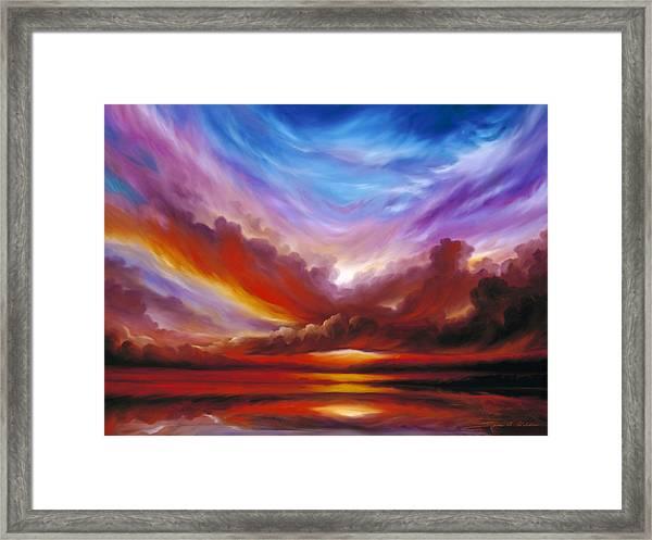 The Cosmic Storm II Framed Print