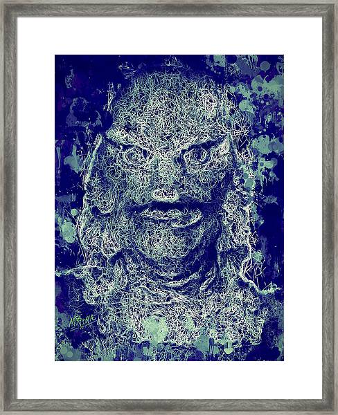 Creature From The Black Lagoon Framed Print