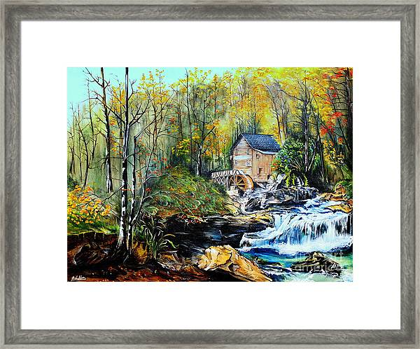 Glade Creek Framed Print