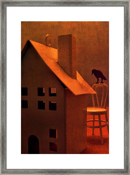 The Crows House Framed Print