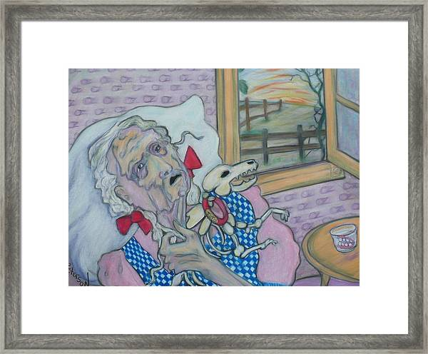 the curious case of Dorothy Gale Framed Print