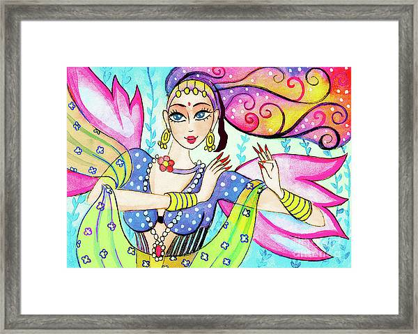 The Dance Of Pari Framed Print