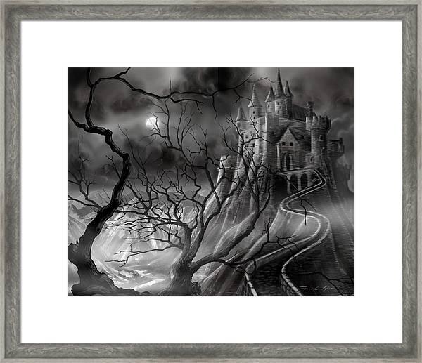 The Dark Castle Framed Print