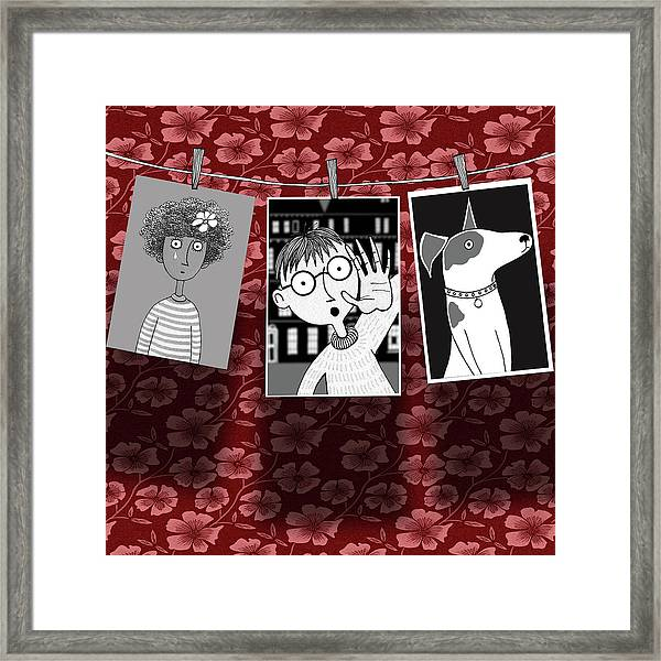 The Darkroom  Framed Print by Andrew Hitchen