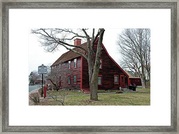 The Deane Winthrop House Framed Print