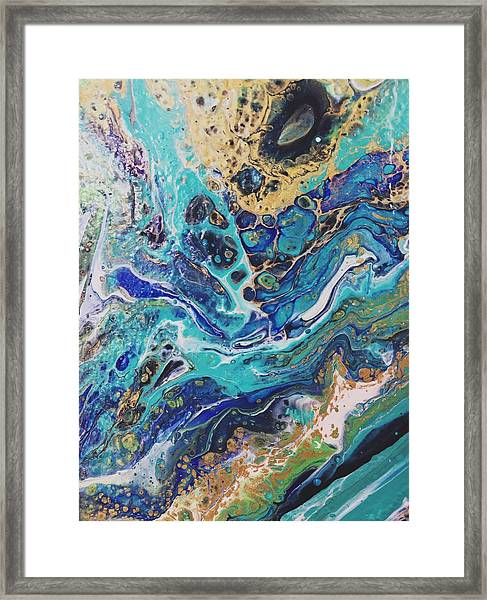 The Deep Blue Sea Framed Print