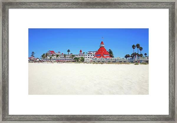 The Del Coronado Hotel San Diego California Framed Print