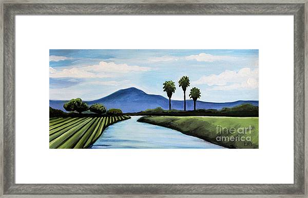The Delta Framed Print