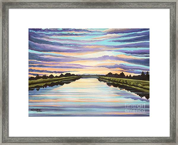 The Delta Experience Framed Print