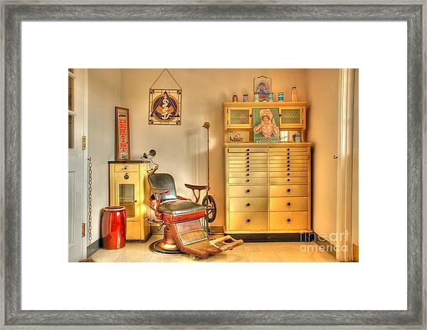 The Dentist Office Framed Print